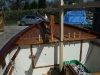 Foredeck and bowsprit
