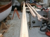 Construction of mast and spars