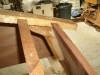 Transom knee (25mm thick iroko)