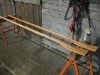 Oars made from Douglas Fir