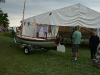 Whitehall on display at the Beale Park Boat Show, June 2013