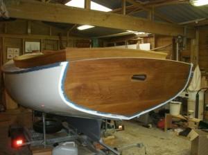 May 2015 - Painting hull