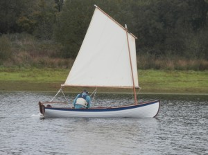 Whitehall Rowing/Sailing Dinghy - 1