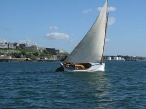 Sailing in Plymouth Sound - Summer 2015