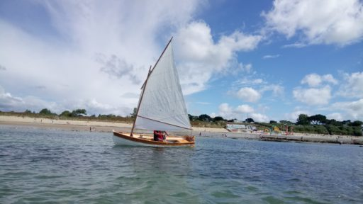 Sailing, Brittany August 2017
