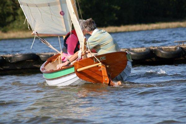 Tammie Norrie on Roadford Lake