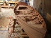 Hull ready for paint and varnish