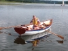 Rowing and sailing trials, Roadford Reservoir, 10th August 2013